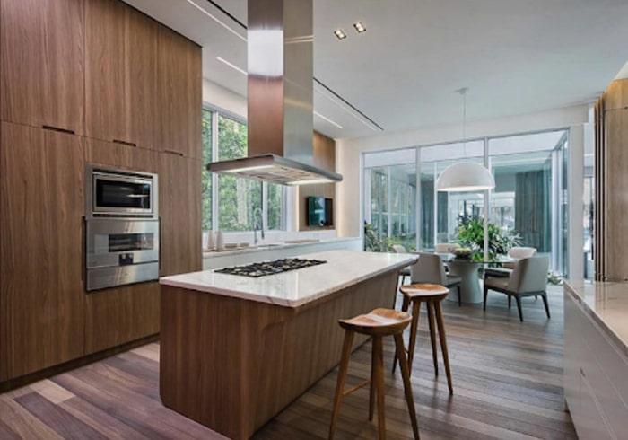Sàn gỗ Plywood đem lại sự sang trọng cho căn nhà